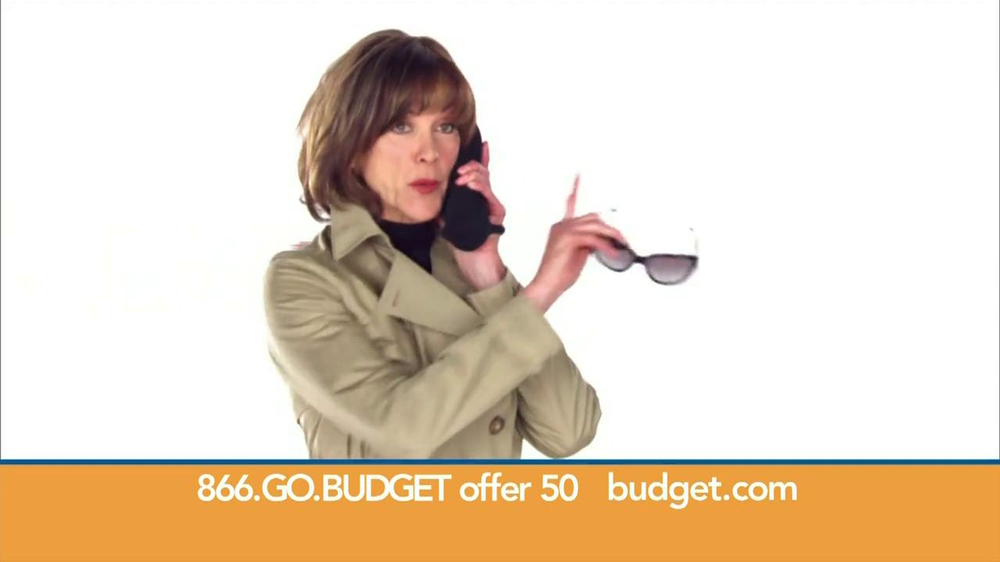 Budget Rent a Car TV Spot, 'Top Secret' Feat. Wendie Malick - Screenshot 4