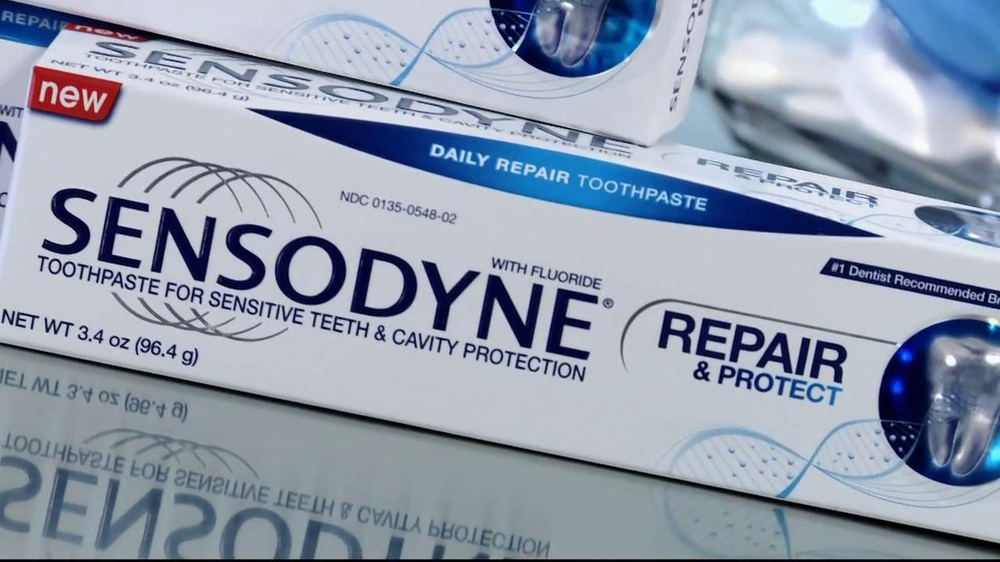 Sensodyne Repair and Protect TV Spot, 'Jeremy Webb' - Screenshot 10