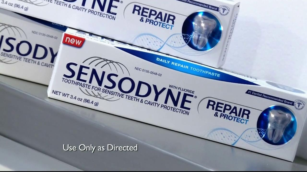 Sensodyne Repair and Protect TV Spot, 'Jeremy Webb' - Screenshot 3