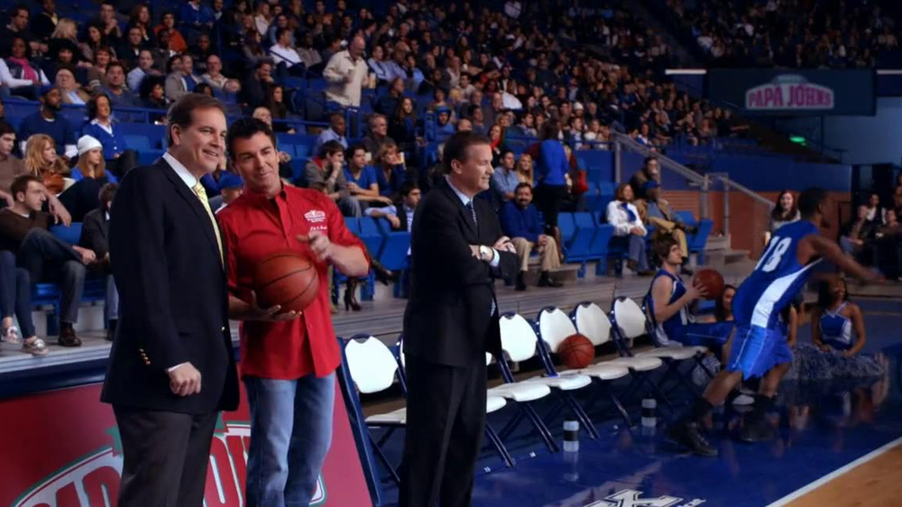 Papa John's TV Spot, 'Half-Court Shot' - Screenshot 1