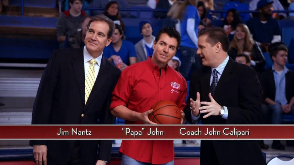 Papa John's TV Spot, 'Half-Court Shot' - Screenshot 2