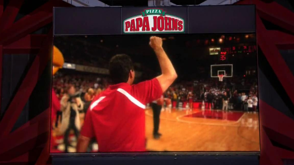 Papa John's TV Spot, 'Half-Court Shot' - Screenshot 3
