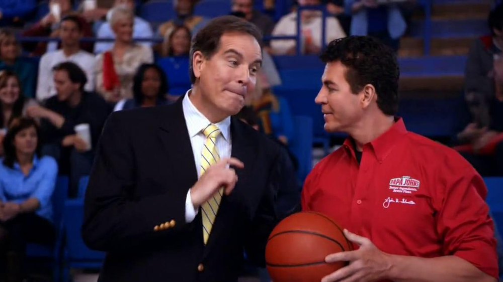 Papa John's TV Spot, 'Half-Court Shot' - Screenshot 4