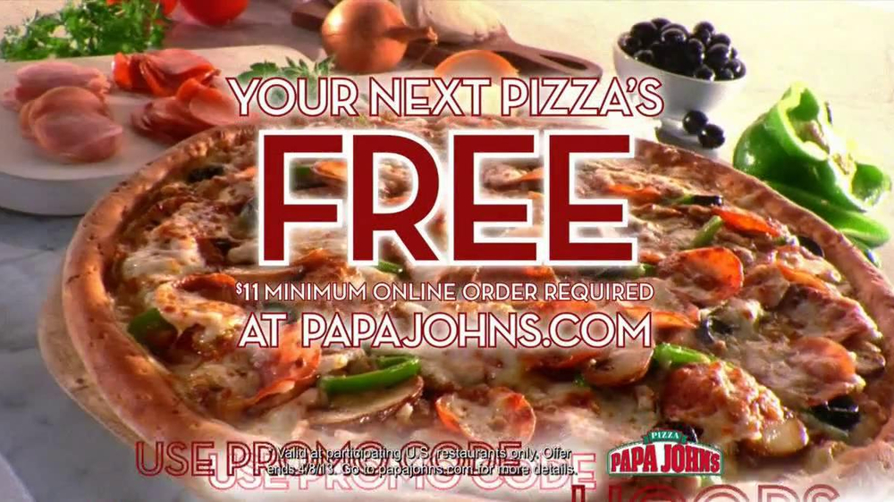 Papa John's TV Spot, 'Half-Court Shot' - Screenshot 8