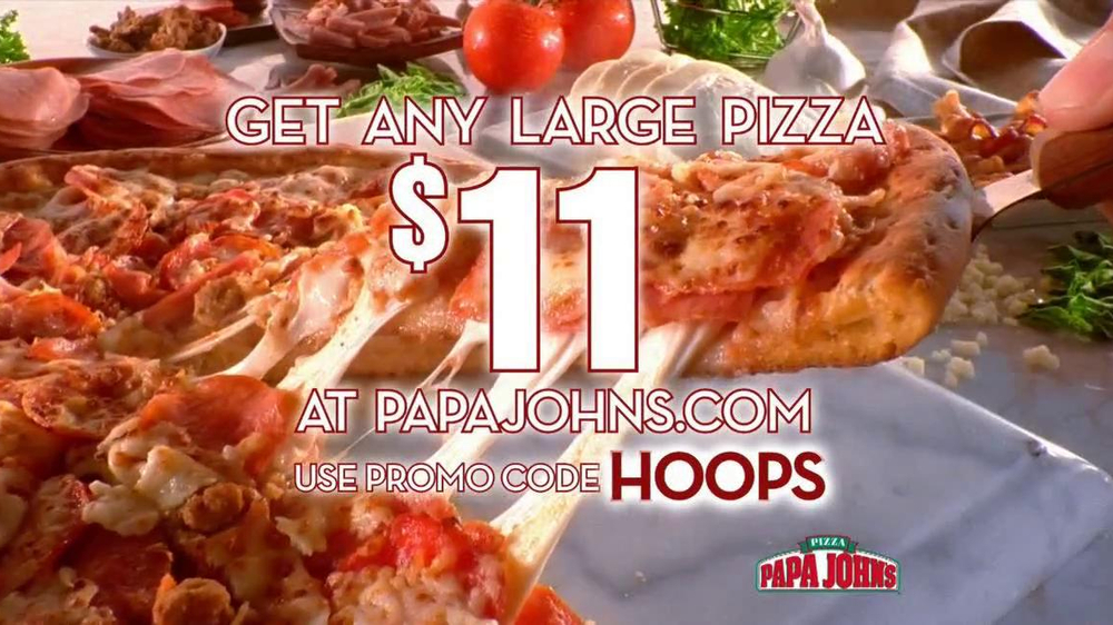 Papa John's TV Spot, 'Half-Court Shot' - Screenshot 9