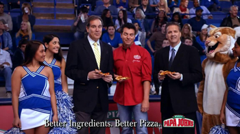 Papa John's TV Spot, 'Half-Court Shot' - Thumbnail 10