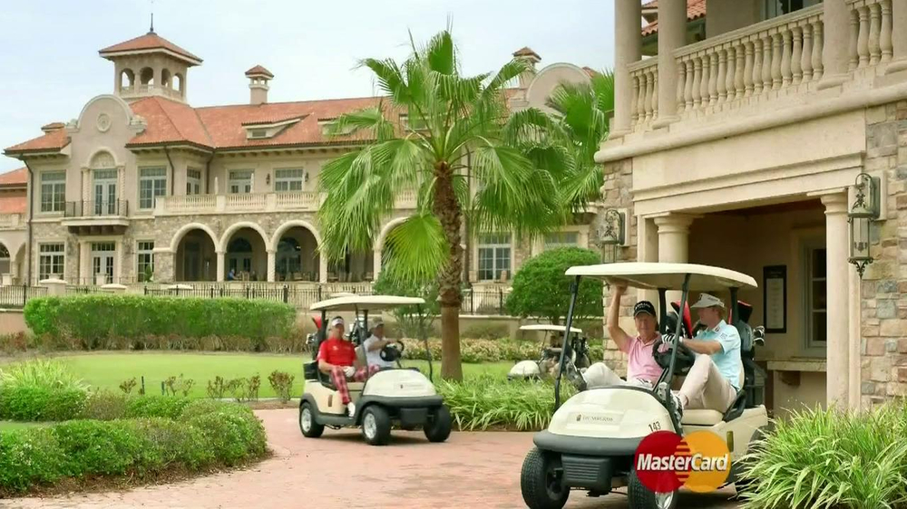 MasterCard World TV Spot, 'The Turn' Featuring Brandt Snedeker - Screenshot 1