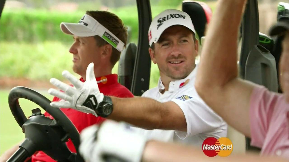 MasterCard World TV Spot, 'The Turn' Featuring Brandt Snedeker - Screenshot 2