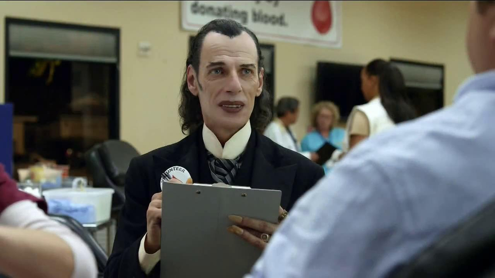 GEICO TV Spot, 'Dracula at a Blood Drive' - Screenshot 4