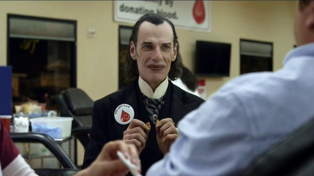 GEICO TV Spot, 'Dracula at a Blood Drive' - Screenshot 7