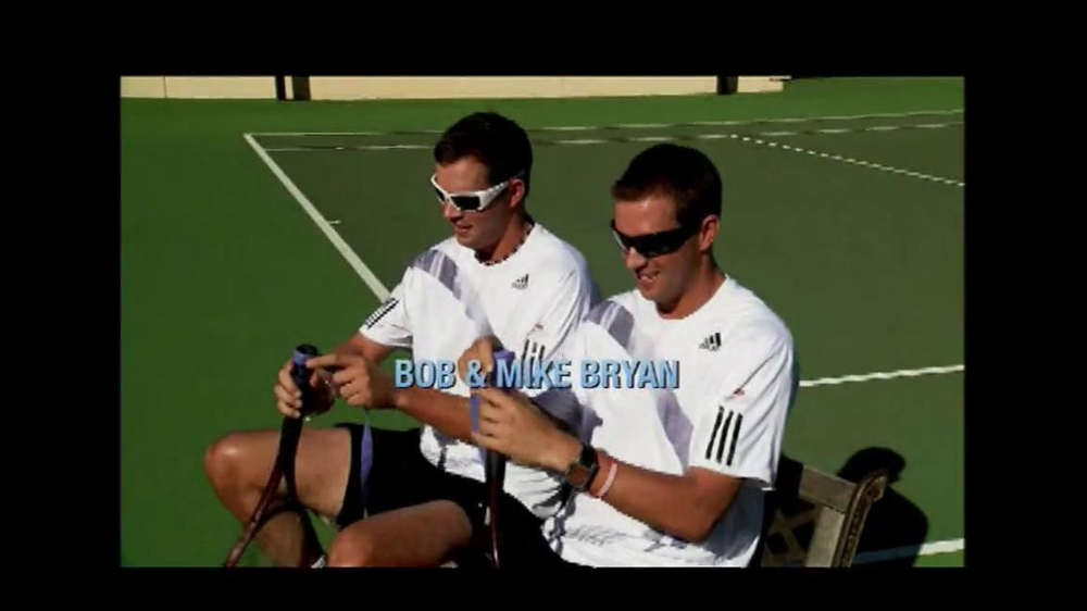 Tourna Grip TV Spot Featuring Bob and Mike Bryan - Screenshot 1