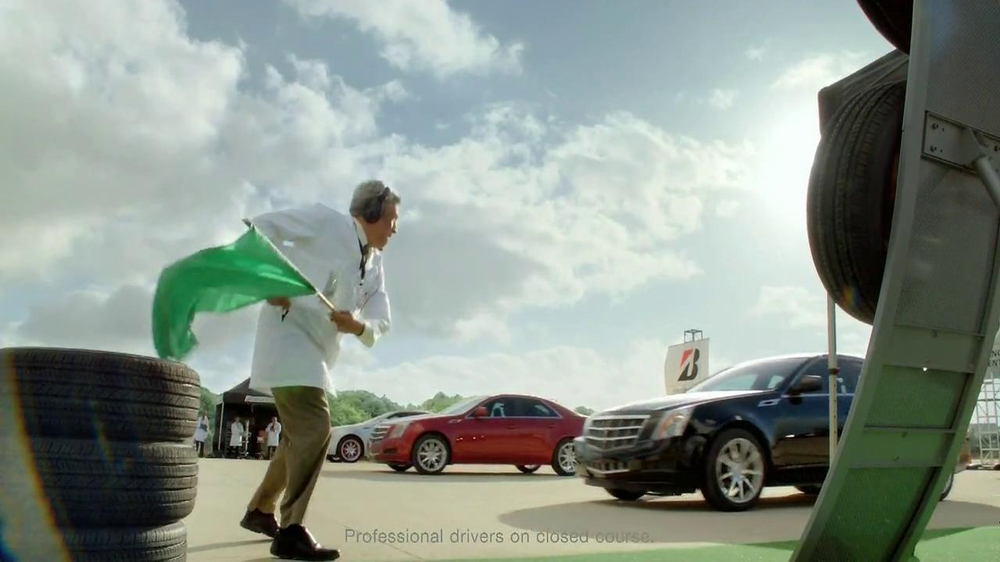 Bridgestone TV Spot, 'Drift Driving' Featuring Fred Couples - Screenshot 4