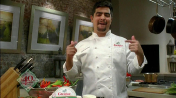 Cacique Queso Fresco TV Spot Featuring Aaron Sanchez