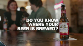Budweiser TV Spot, 'Where Your Beer is Brewed' - Thumbnail 1