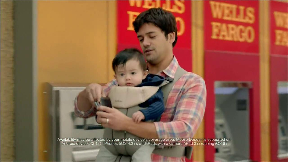 Wells Fargo TV Spot, 'Daddy's Day Out with Baby' - Screenshot 6