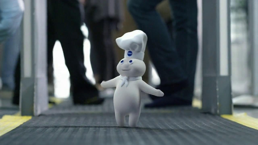 GEICO TV Spot, 'Happier Than Pillsbury Doughboy' - Screenshot 6