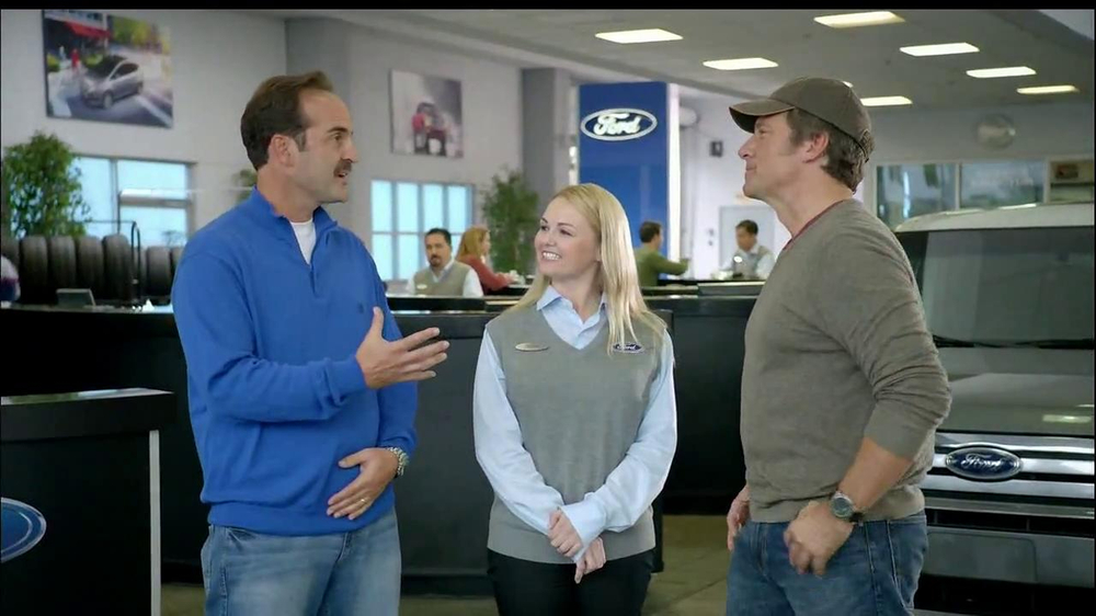 girl in ford tire commercial with mike rowe. Black Bedroom Furniture Sets. Home Design Ideas