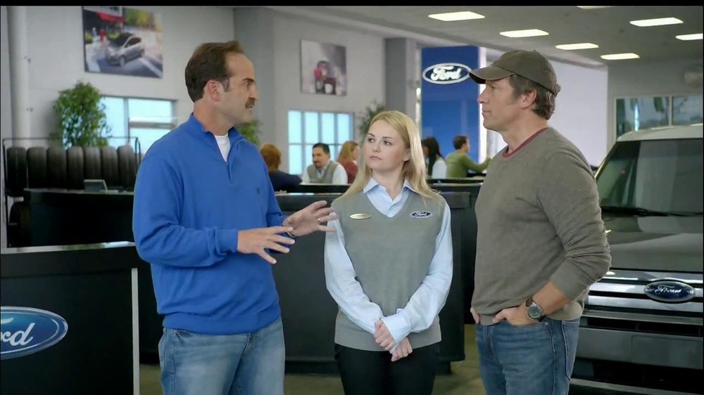 ford tv spot 39 customer service 39 feat mike rowe. Black Bedroom Furniture Sets. Home Design Ideas