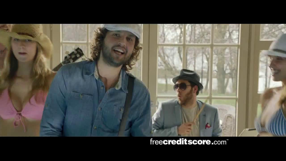 FreeCreditScore.com TV Spot, 'Pool Party' - Screenshot 7