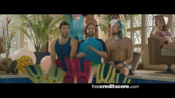 FreeCreditScore.com TV Spot, 'Pool Party' - Thumbnail 2