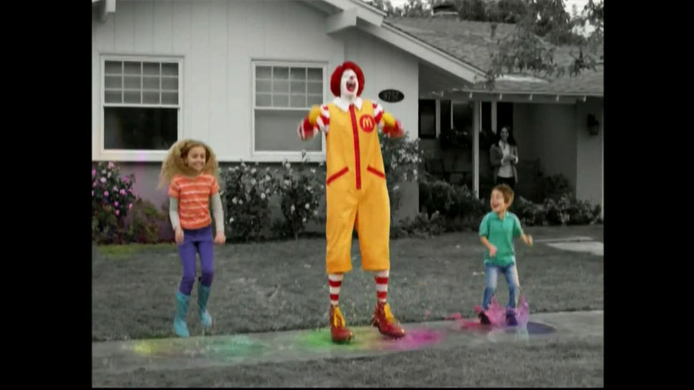 McDonald's Happy Meal TV Spot, 'Rainy Day' - 2977 commercial airings