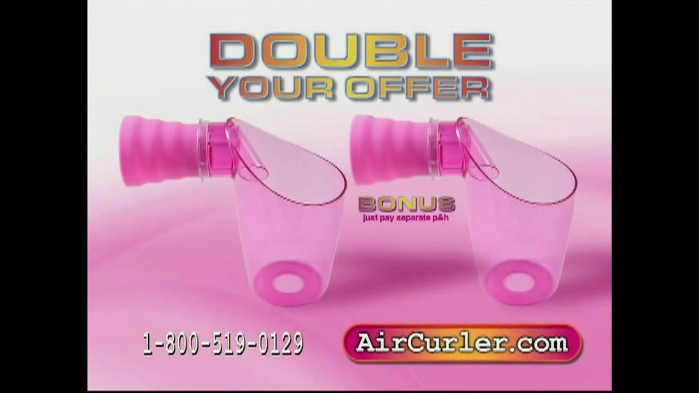 Air Curler TV Spot - Screenshot 10