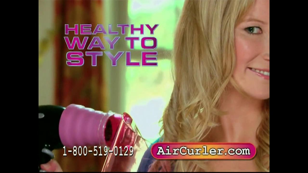 Air Curler TV Spot - Screenshot 5