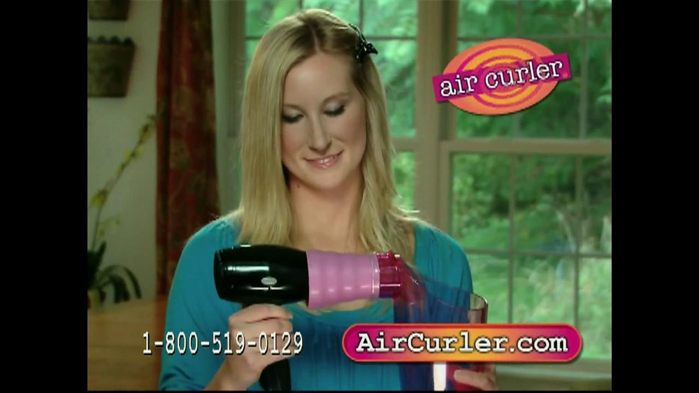 Air Curler TV Spot - Screenshot 7