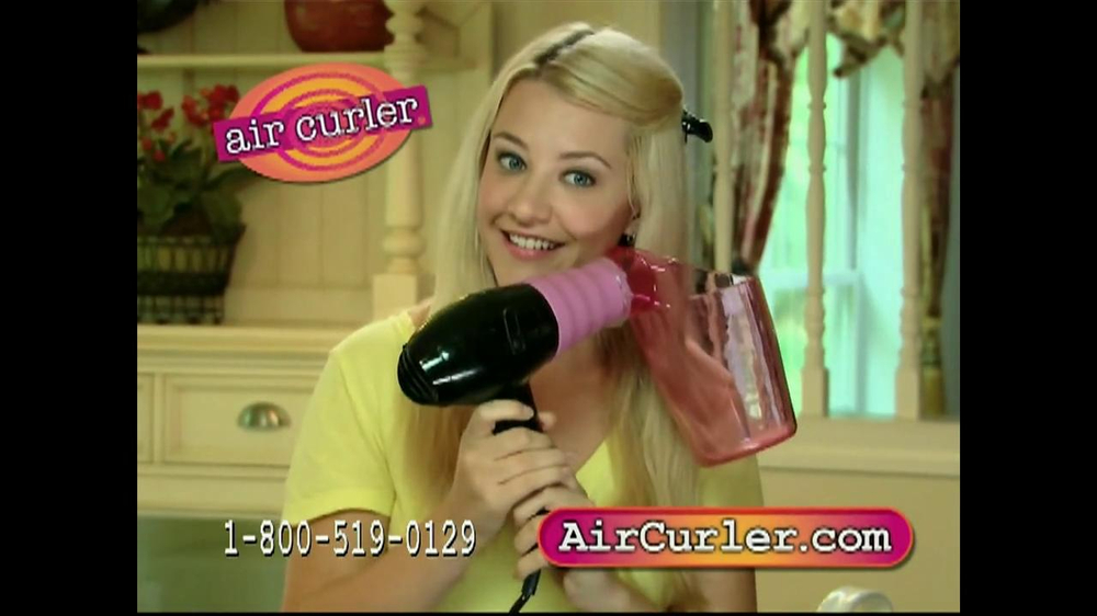 Air Curler TV Spot - Screenshot 8