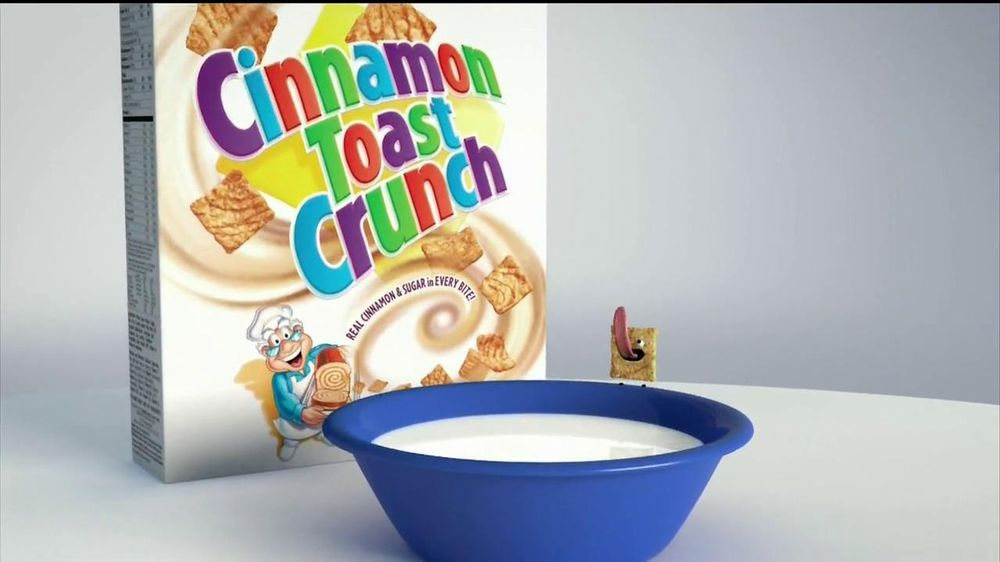 Cinnamon Toast Crunch TV Spot , 'Crazy Square Fishing' - Screenshot 1