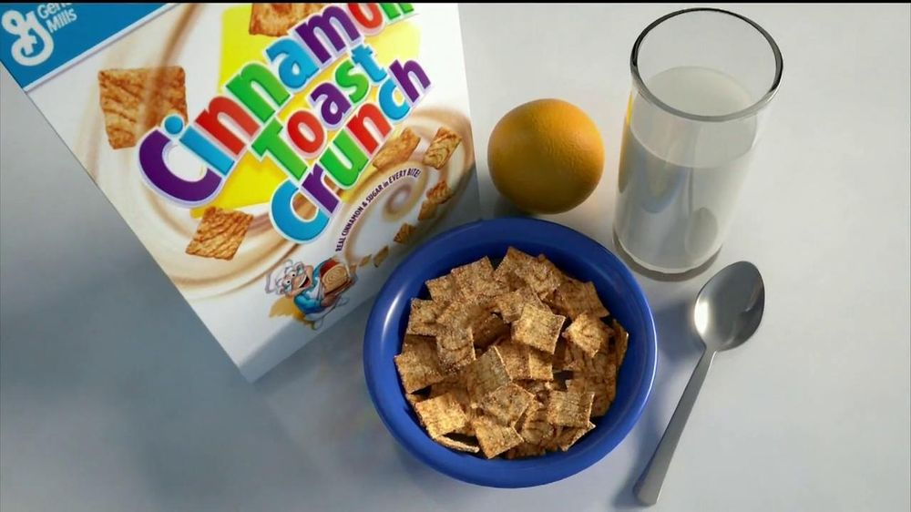 Cinnamon Toast Crunch TV Spot , 'Crazy Square Fishing' - Screenshot 5