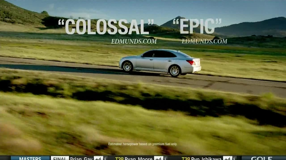 2013 Hyundai Equus TV Spot, 'Trailer Narration' - Screenshot 6
