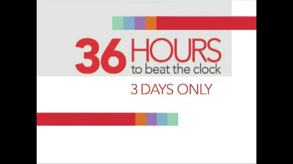 Ashley Furniture Homestore 36 Hours To Beat The Clock Tv