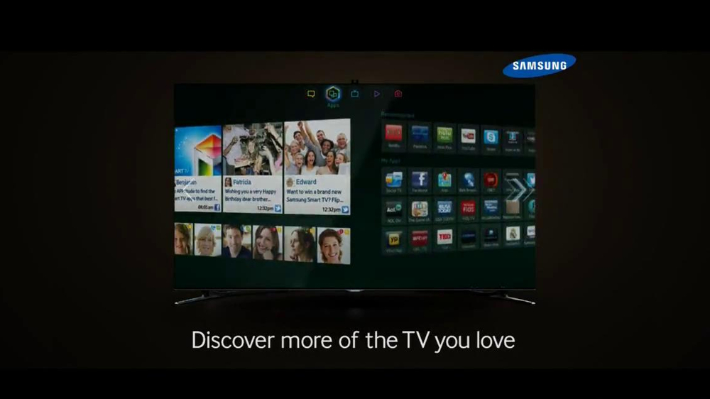 Samsung Smart TV TV Spot, 'Recommendations' Song by Kill It Kid - Screenshot 9