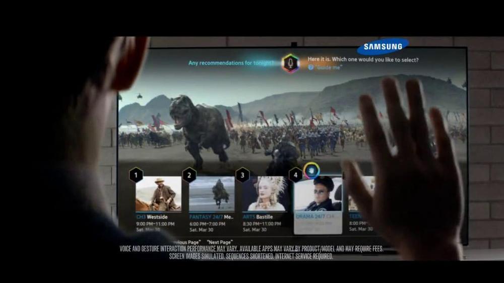 Samsung Smart TV TV Spot, 'Recommendations' Song by Kill It Kid - Screenshot 7