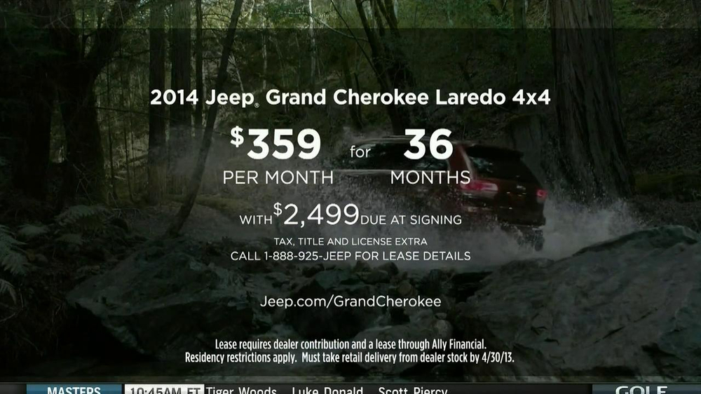 jeep grand cherokee commercial voice george clooney george clooney