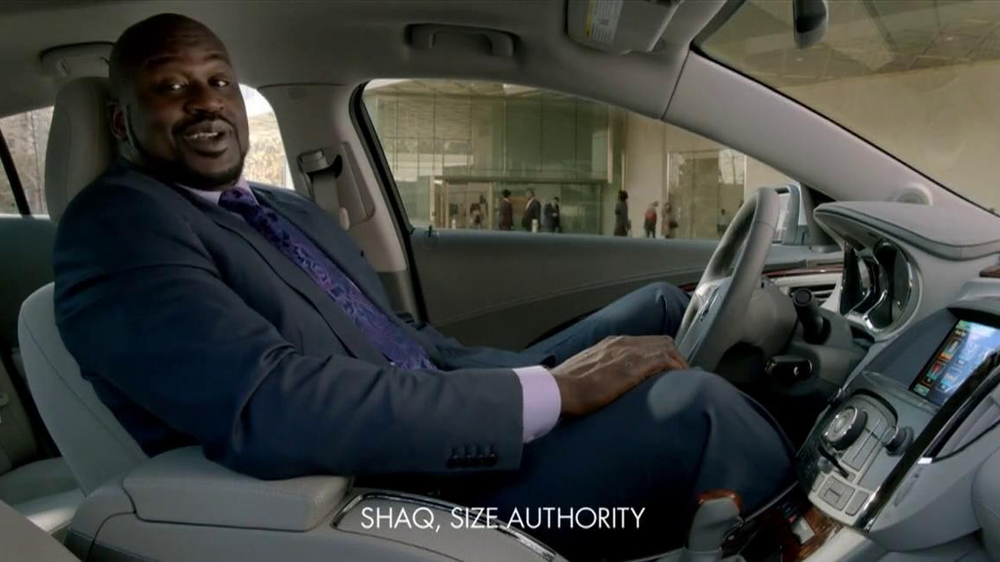 2013 Buick Lacrosse TV Spot, 'More Than Expected' Feat. Shaquille O'Neal - Screenshot 2