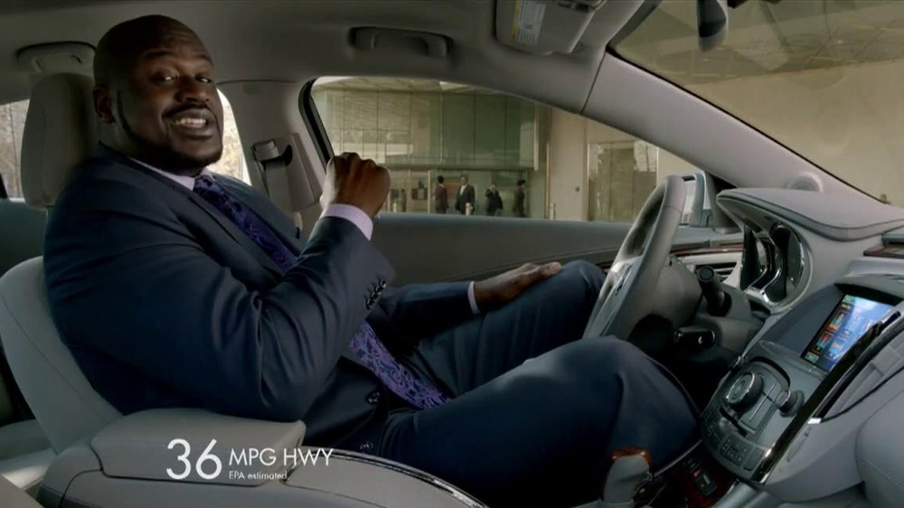 2013 Buick Lacrosse TV Spot, 'More Than Expected' Feat. Shaquille O'Neal - Screenshot 4