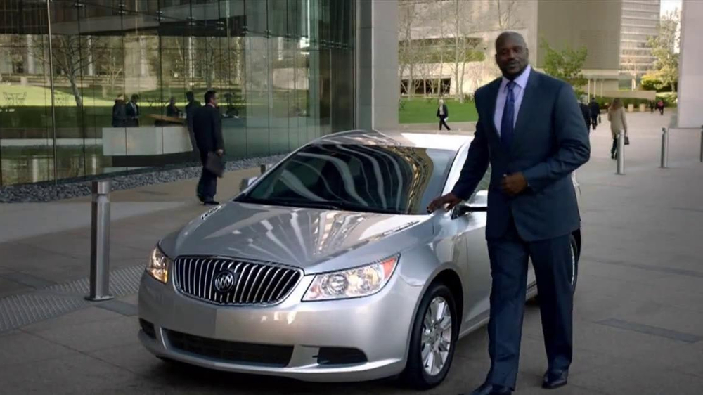 2013 Buick Lacrosse TV Spot, 'More Than Expected' Feat. Shaquille O'Neal - Screenshot 7