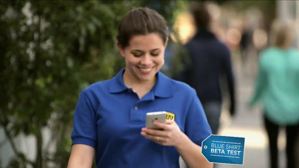 Best Buy Blue Shirt Beta Test TV Spot, 'Stephanie Tests HTC One' - Screenshot 1