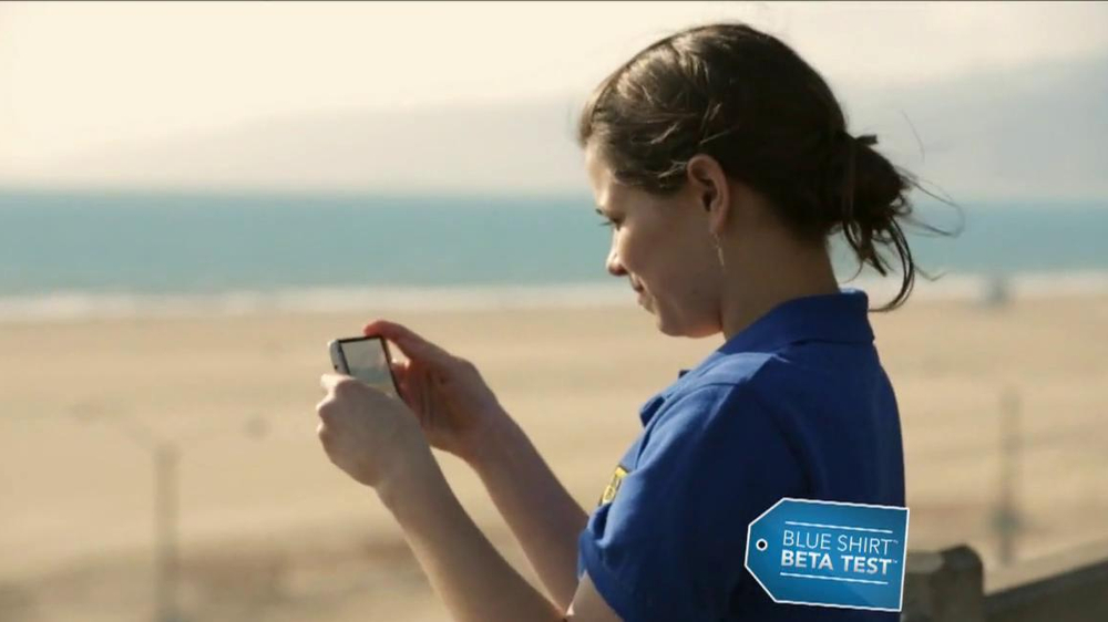 Best Buy Blue Shirt Beta Test TV Spot, 'Stephanie Tests HTC One' - Screenshot 2