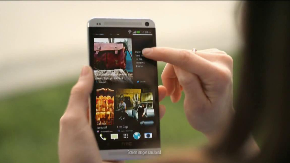 Best Buy Blue Shirt Beta Test TV Spot, 'Stephanie Tests HTC One' - Screenshot 4