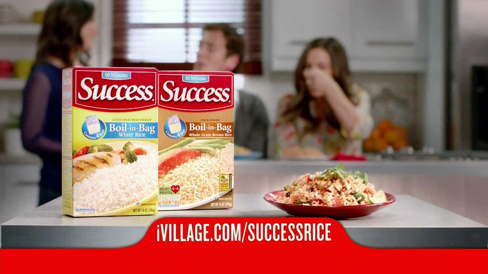iVillage TV Spot, 'Success Rice' Featuring Chef Katie Workman - Screenshot 9
