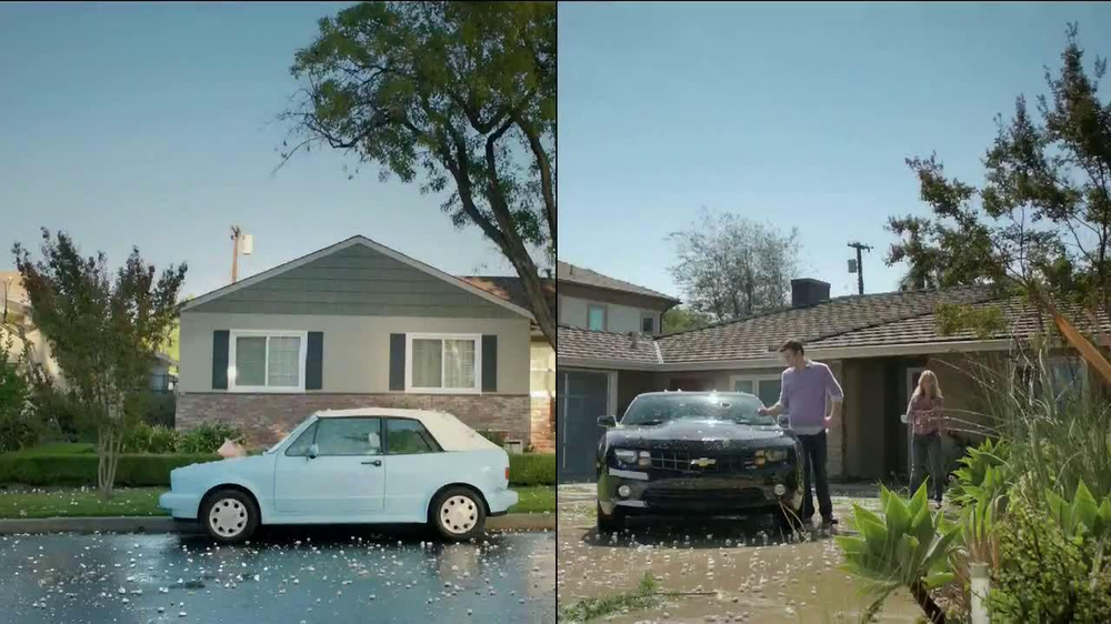 GEICO TV Spot, 'Maxwell and Ted Have Hail Damage' - Screenshot 1