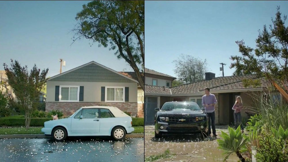 GEICO TV Spot, 'Maxwell and Ted Have Hail Damage' - Screenshot 2