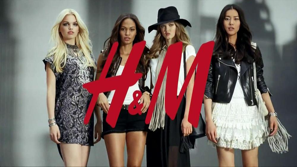 H&M TV Spot, 'The New Icons' Featuring Lindsey Wixson, Joan Smalls, Liu Wen - Screenshot 9