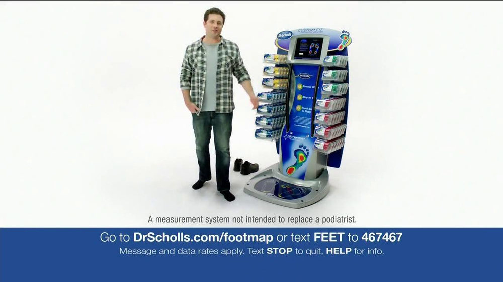 dr scholls insoles machine
