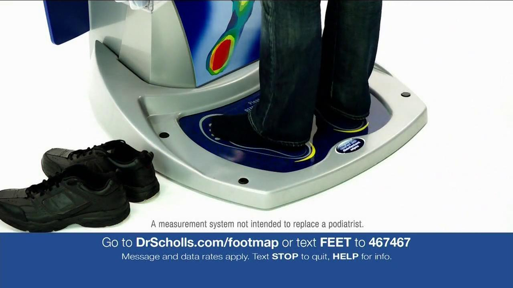 dr scholls shoes inserts machine
