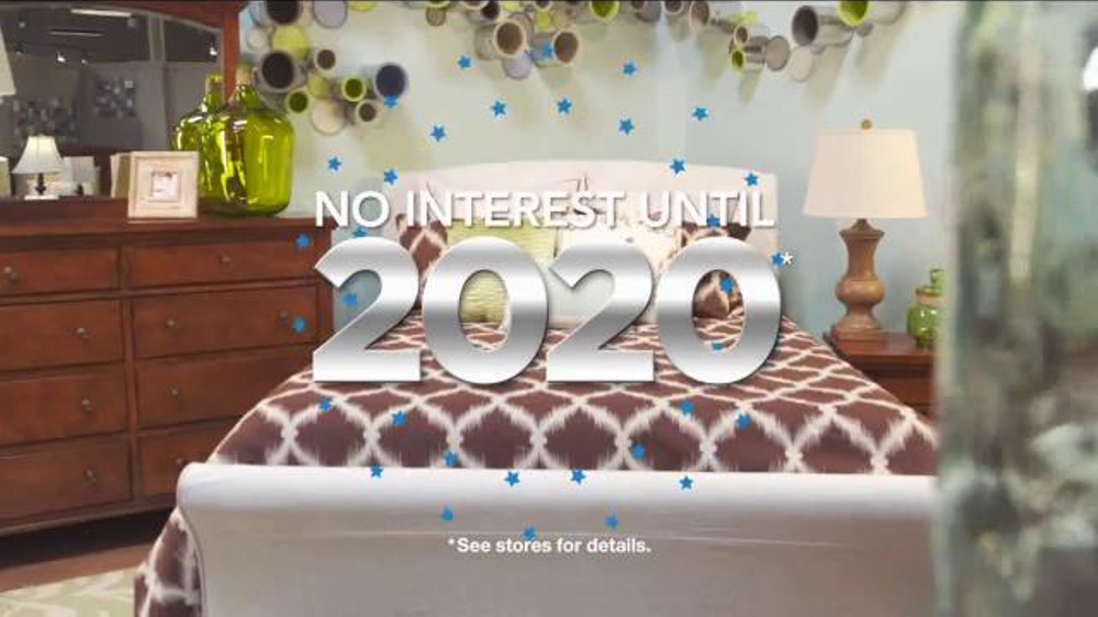 Ashley furniture homestore tv commercial 39 no interest for Furniture 0 interest financing