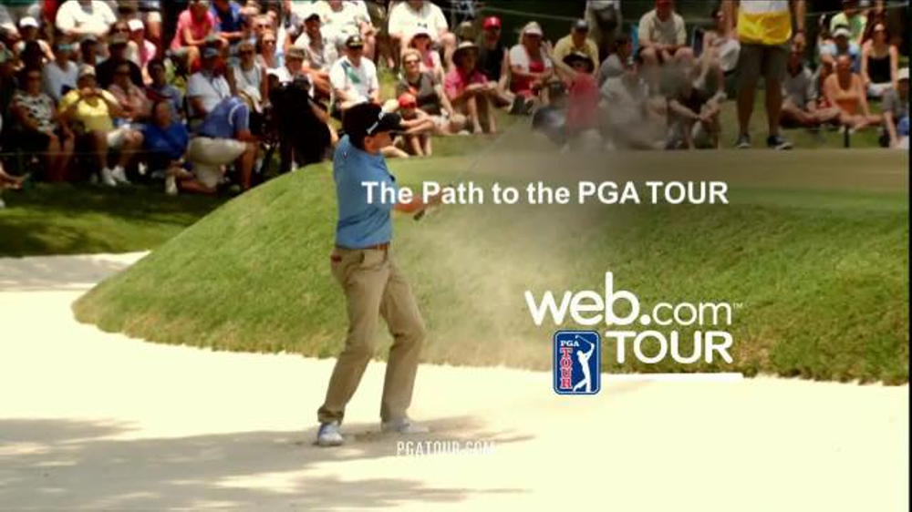 pga tv commercial   u0026 39 web tour u0026 39